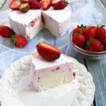 עוגת גלידה תות, לימון ובננה תוצרת בית ובלי מכונת גלידה