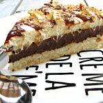 עוגת קוקוס, מוס שוקולד וקצפת