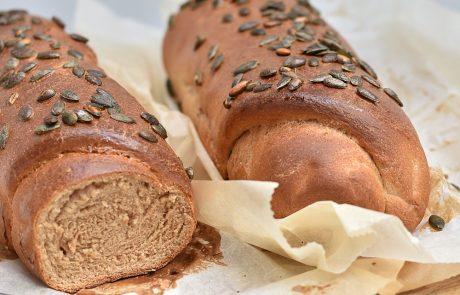 לחם כוסמין טבעוני וגרעיני דלעת