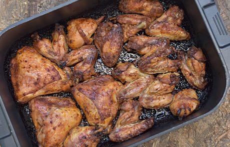 עוף בתנור – חלקי עוף צלויים בתנור