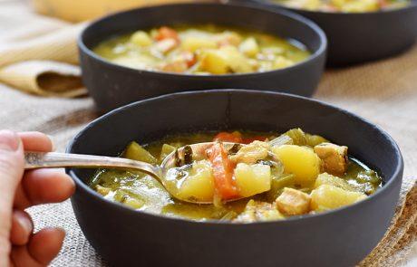 מרק ירקות ביתי, עשיר וטעים במיוחד