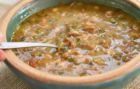 מרק חרירה מרוקאי סמיך וחמצמץ