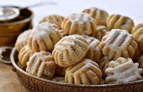עוגיות מעמול במילוי אגוזי מלך