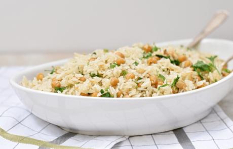 אורז עם חומוס