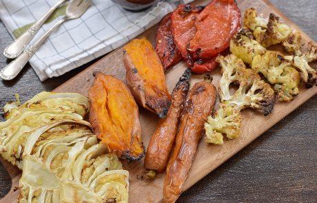 אנטיפסטי – ירקות צלויים בתנור