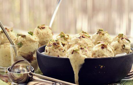 גלידת פיסטוק תוצרת בית