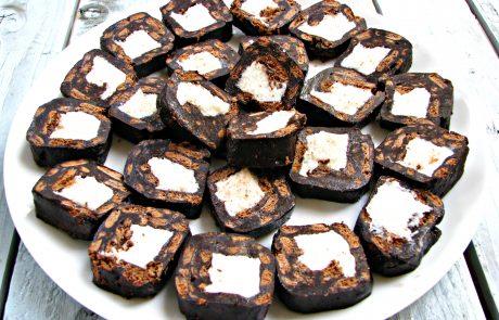 סושי שוקוקוס – ביסקוויטים, שוקולד וקוקוס