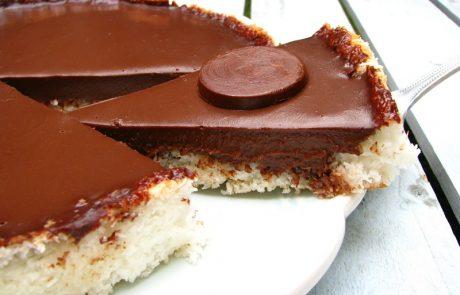 טארט קוקוס ושוקולד – גם בגרסת פרווה