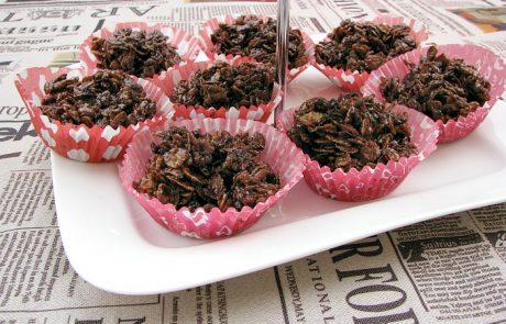 חטיפי פצפוצי אורז ושוקולד