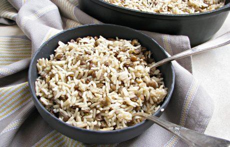 מג'דרה – אורז עם עדשים