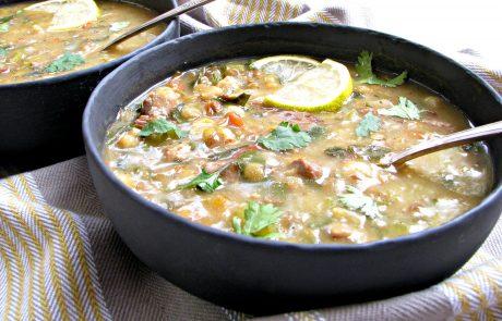 מרק חרירה מרוקאי סמיך סמיך וחמצמץ