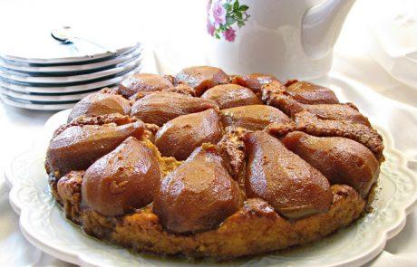 עוגת גבינטאטן אגסים