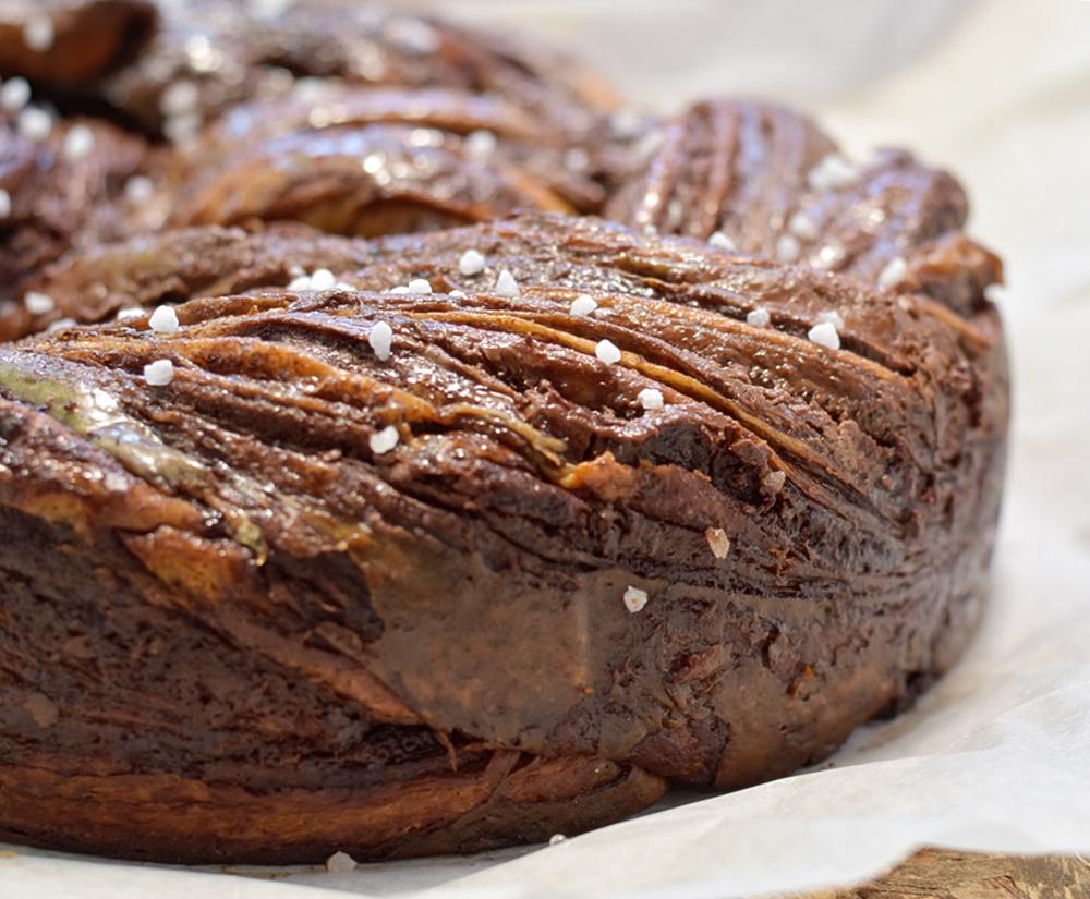 קרנץ' שמרים שוקולד ונוטלה