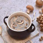 מרק פטריות סמיך וטעים במיוחד