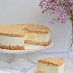 עוגת גבינה קרה ופירורים מושלמת!!