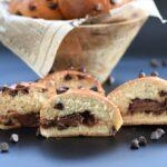 לחמניות דאבל שוקולד - גם בבצק וגם ממולאות בנוטלה