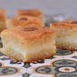 עוגת סולת במילוי מלבי (בסבוסה בל אשטה)