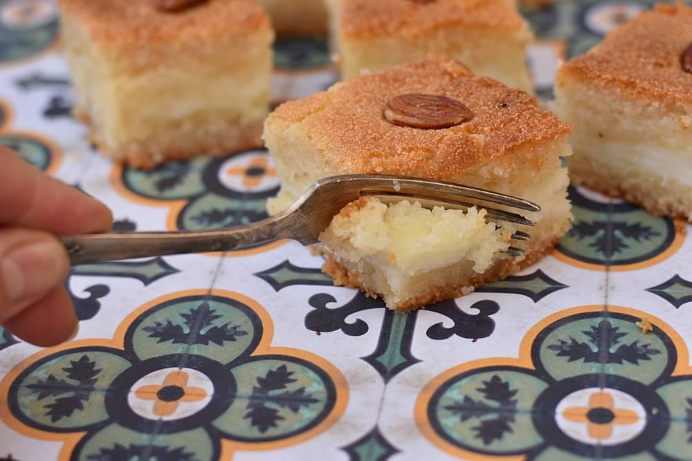 עוגת סולת ומלבי