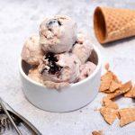 גלידת דובדבני אמרנה - ללא מכונת גלידה