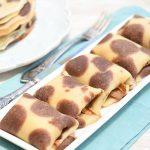 בלינצ'ס דלמטי במילוי גבינה מתוקה