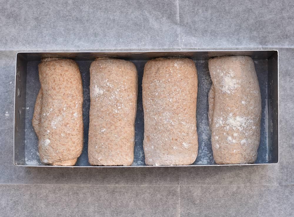 לחם בריאות מקמח כפרי מלא וכוסמין