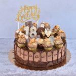עוגת מוס שוקולד ואייריש קרים