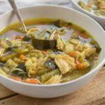מרק ירקות חמים וטעים