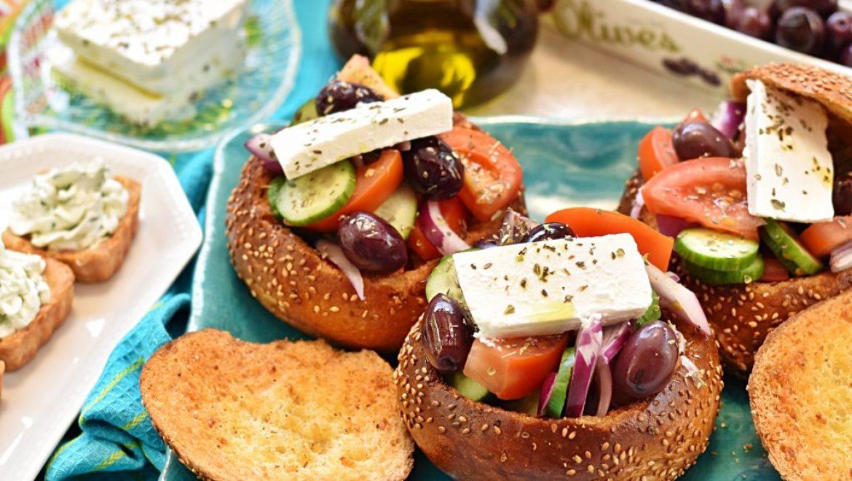 ארוחה יוונית משודרגת