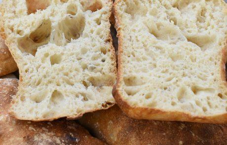 לחם איטלקי לבן (ג'בטה)