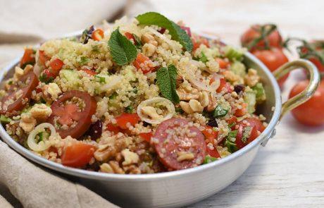 סלט קינואה וירקות – סלט שהוא ארוחה שלמה