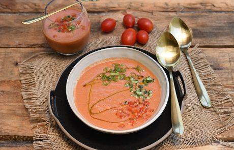 מרק עגבניות קר לימים חמים במיוחד