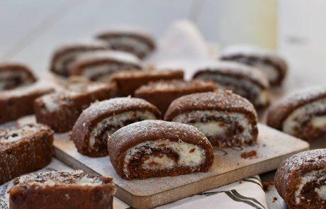מגולגלות שוקולד וקוקוס טעימות במיוחד
