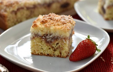 עוגת ריבה, קוקוס ושטרוייזל קוקוס