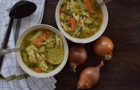 מרק ירקות עשיר וטעים במיוחד