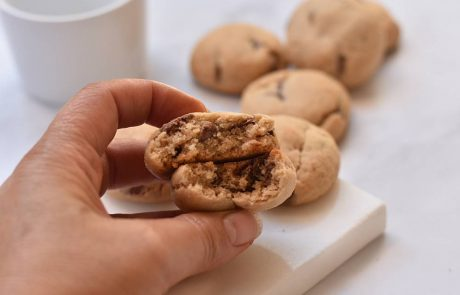 עוגיות חמאה ושוקולד חלב