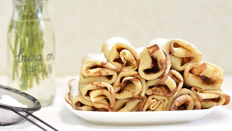 בלינצ'ס גבינה, ריבת תותים וקינמון