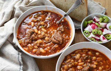 מרק בשר ושעועית תימני מושלם