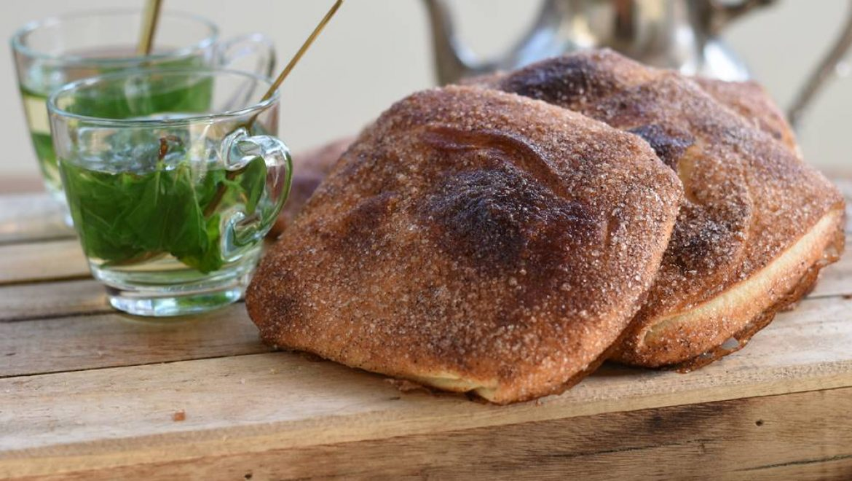 משמנה – מאפה שמרים מרוקאי מתוק