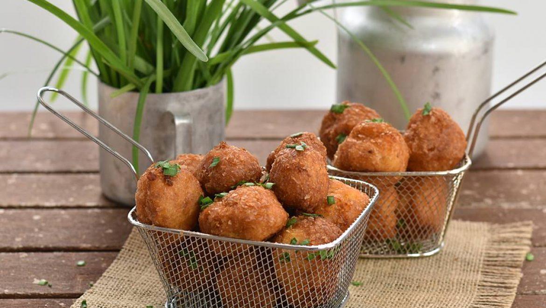 חטיף תפוחי אדמה וגבינה
