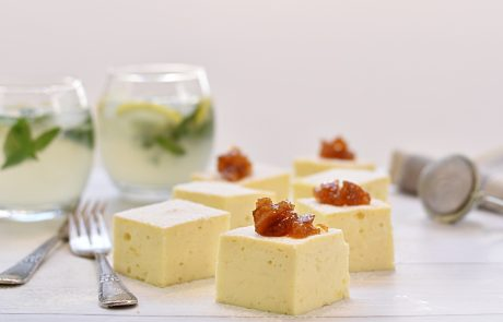 עוגת גבינה חמה של בתי מלון