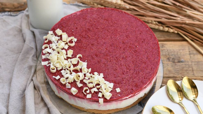 עוגת גבינה עם מסקרפונה ופטל