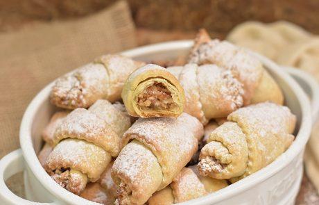 עוגיות ממולאות אגוזים  ושקדים