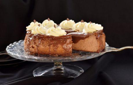 עוגת גבינה ושוקולד מלכותית
