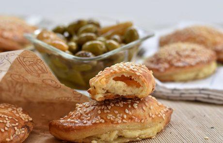 כיסני גבינה מבצק גבינה קריספיים במיוחד