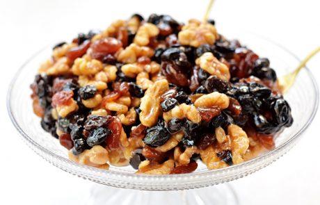 ריבת אגוזים וצימוקים