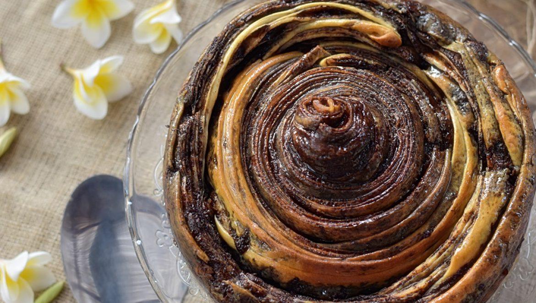 עוגת שמרים שוקולד משובללת