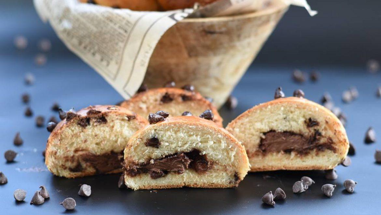 לחמניות דאבל שוקולד – גם בבצק וגם ממולאות בנוטלה