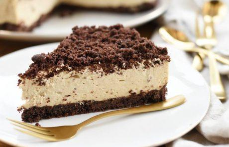 עוגת שוקולד וקרם קפה מהירת הכנה