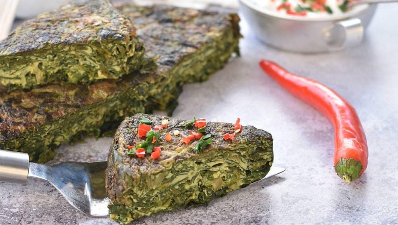 פשטידת ירק פרסית (קוקו סבזי)