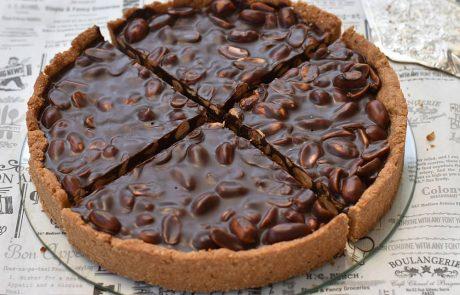טארט בוטנים מלוחים ושוקולד